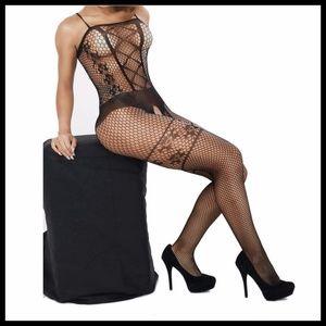 Miss Babydoll Intimates & Sleepwear - ❤️NEW Sexy Open Crotch Bodystocking Lingerie #L013